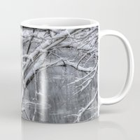 river song Mugs featuring Winter's Song by Joann Vitali