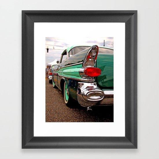 Angle of Americana Framed Art Print