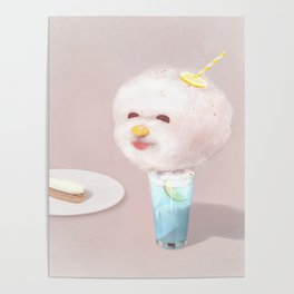 Cotton Candy Drink Poster