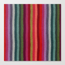 Get Knitted Canvas Print