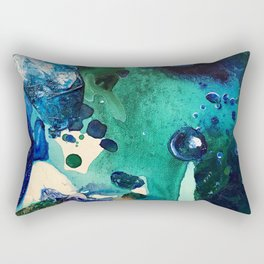 The Wonders of the World, Tiny World Collection Rectangular Pillow