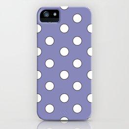 Lavender Pastel Polka Dots iPhone Case