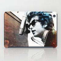 bob dylan iPad Cases featuring Bob Dylan by Maioriz Home