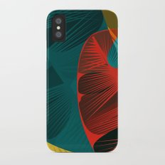Autumn is for feathers Slim Case iPhone X
