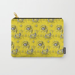 Hufflepuff Toile Carry-All Pouch