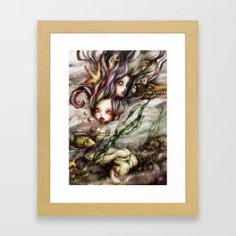 Drowned Memories Framed Art Print