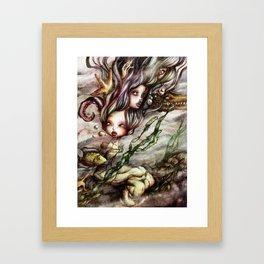 Drowned Memories Framed Art Print