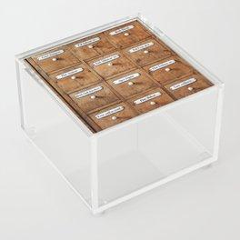 Pharmacy storage Acrylic Box