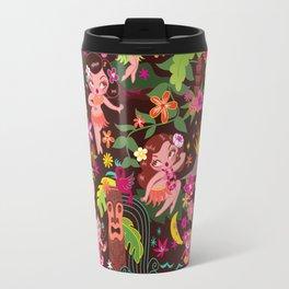 Hula Cuties Pattern Travel Mug