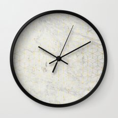 gOld 3D Wall Clock