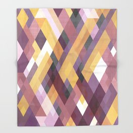 Colorful stripes 2 Throw Blanket