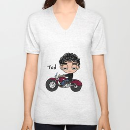 Tod Cycle Unisex V-Neck