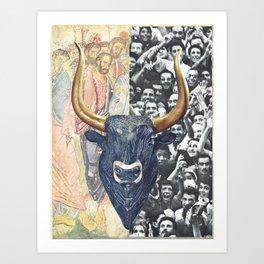 El Toro Art Print