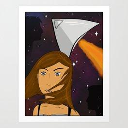 Esmae and Titania / A Spark of White Fire art Art Print