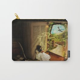 The Book Of Secrets Carry-All Pouch