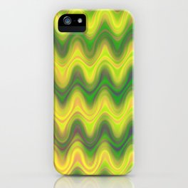 Agate Wave Green - Mineral Series 002 iPhone Case