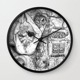 The constellation erotique 2477 Wall Clock