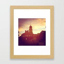 Samford Framed Art Print