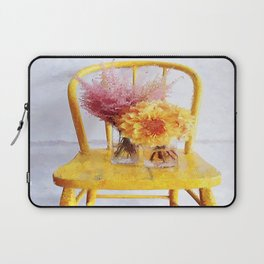Yellow Chair Laptop Sleeve