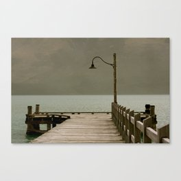 Queenstown Warf Canvas Print