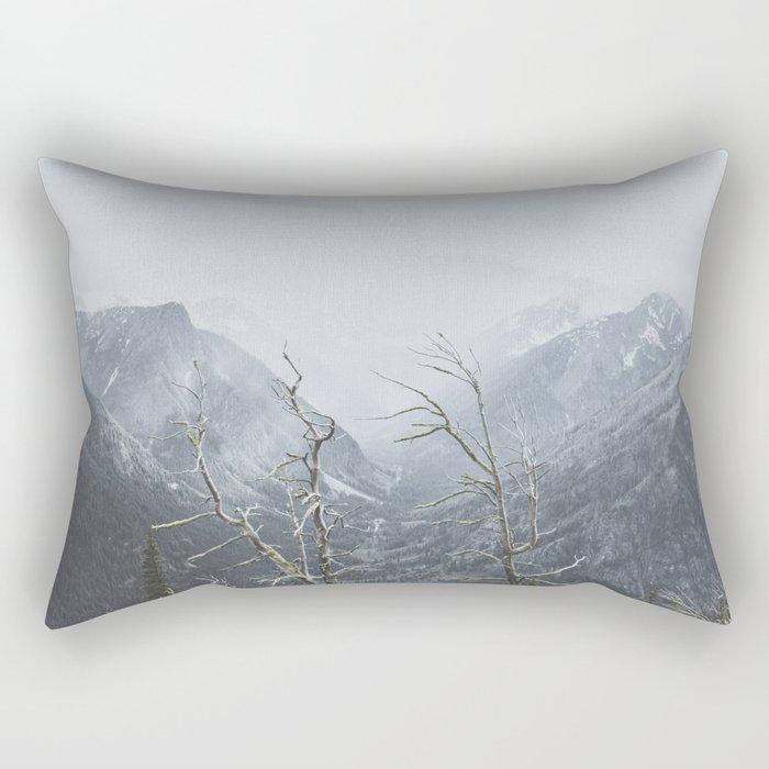 North Cascades Rectangular Pillow
