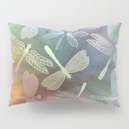 Dragonfly Dance Pillow Sham