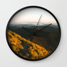 Kahpahlim Rock Sunrise II Wall Clock