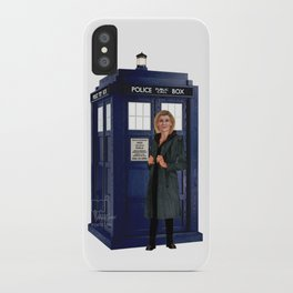 1th Doctor, 4th Doctor, Sarah Jane, K-9 iPhone Case