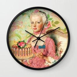 Qu'ils mangent de la brioche Wall Clock