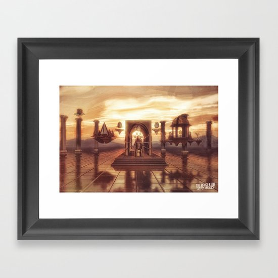 The Revelator Framed Art Print