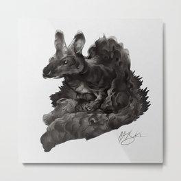 Forest Sprite Metal Print