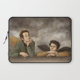 Gabriel & Castiel Laptop Sleeve