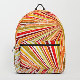 Retro Grunge Background Backpack