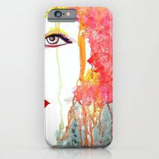 Angry Girl iPhone 6s Slim Case