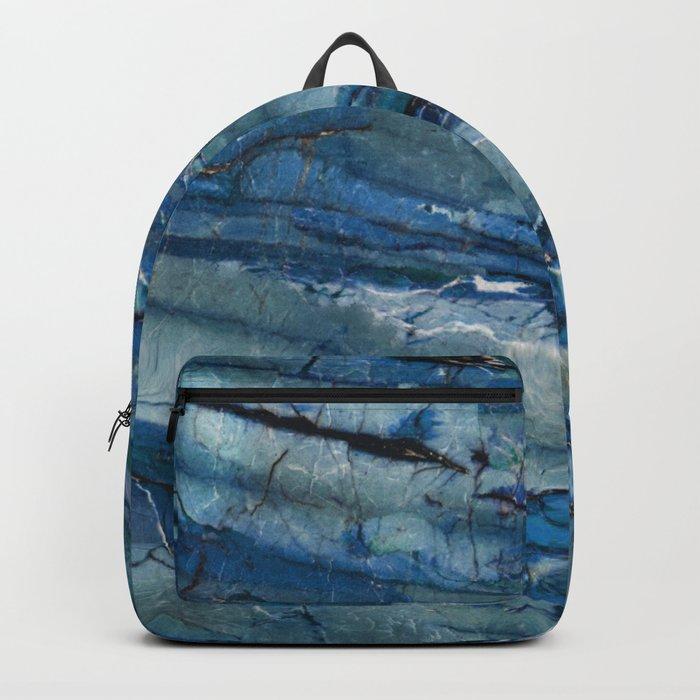 Ocean Depths Blue Marble Backpack