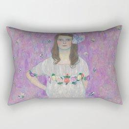 Gustav Klimt - Mäda Primavesi Rectangular Pillow