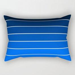 Infantry Blue Ombre Rectangular Pillow
