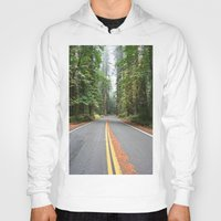 giants Hoodies featuring Avenue Of The Giants by Kim Ramage