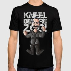 Kneel!!! 2X-LARGE Mens Fitted Tee Black