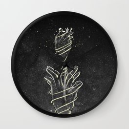 The strings of our heart. Wall Clock