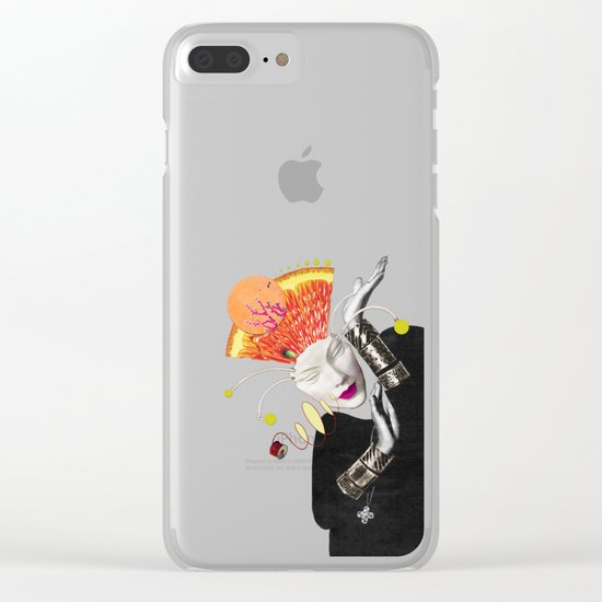 I Don't Care If You Don't Like It Clear iPhone Case