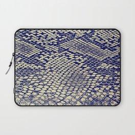 blue snake Laptop Sleeve