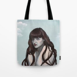 Warrior of desire Tote Bag