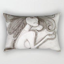 ef off girl Rectangular Pillow