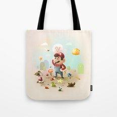 Too Super Mario Tote Bag