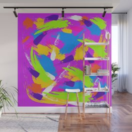 Lilac Emotions Wall Mural
