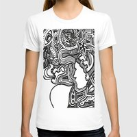 techno T-shirts featuring Techno by Madison R. Leavelle