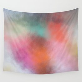 Abstract Square - Colored  Wall Tapestry