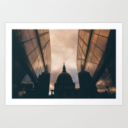 St. Paul's after the rain Art Print