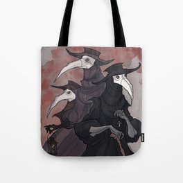 Plague Trio Tote Bag